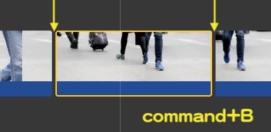 command+B